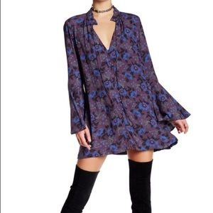 Free People | Magic Mystery Floral Printed Tunic